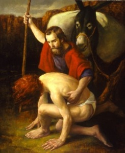 painting of a good samaritan