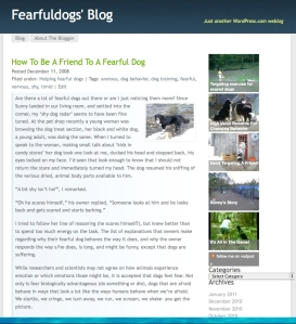 fearful dogs blog