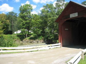 Green River covered bridge in guilford vermont