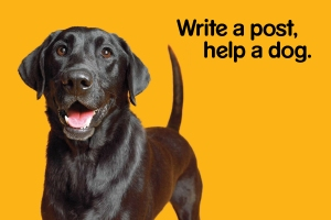 PEDIGREE Write A Post Help A Dogs POSTCARDS 6