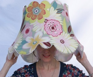 Lampshade-head